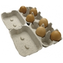 Egg Boxes. Side Opening. 20 x 6 egg cartons.